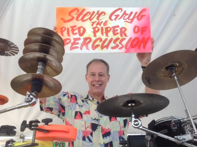 Steve Gryb Pied Piper of Percussion