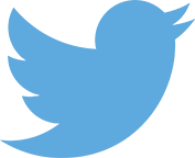 Twitter logo blue small